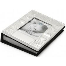 Фотоалбум за бебета със сребърно покритие Zilverstad, 10 х 15 cm -1