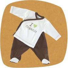 Сет камизолка и ританки For Babies - Organic, 3-6 месеца -1