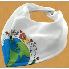 Бебешки лигавник-бандана For Babies - Global -1