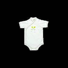 Боди камизолка с къс ръкав For Babies - Мишле, 3-6 месеца -1