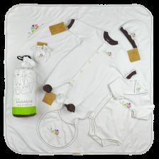 Комплект Моите първи дрешки For Babies - Охлювче, 1-3 месеца -1
