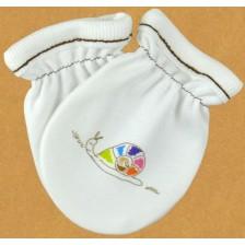 Бебешки ръкавички For Babies - Цветно охлювче -1