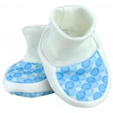 Бебешки обувки For Babies - Сини, 0+ месеца -1
