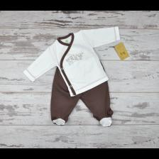 Сет камизолка и ританки For Babies - Give me a hug, 1-3 месеца -1
