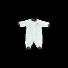 Бебешко гащеризонче с предно закопчаване For Babies - Охлювче, 1-3 месеца -1