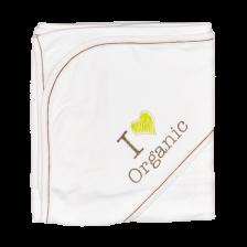 Бебешка пелена с качулка For Babies - Organic -1