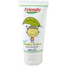 Бебешки крем против подсичане Friendly Organic - С масло от ший, 100 ml -1