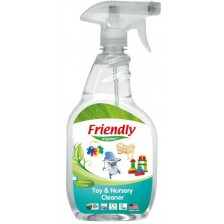 Универсален почистващ препарат за играчки Friendly Organic - 650 ml  -1