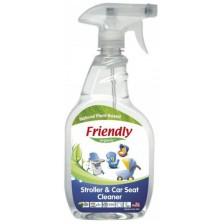Препарат за почистване на детски колички и столчета Friendly Organic - 650 ml -1