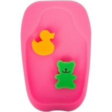 Гъба за вана Sevi Baby - розова -1