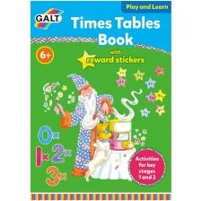 Образователна книжка Galt - Научи се да умножаваш, английска версия -1
