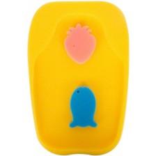 Гъба за вана Sevi Baby - жълта -1