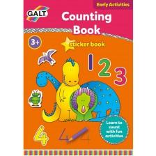 Детска книжка Galt Early Activities - Да се научим да броим -1