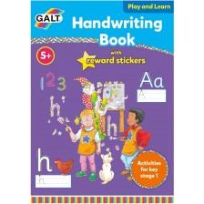 Образователна книжка Galt - Ръкописно писане на английски език -1