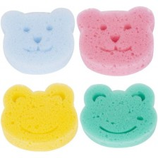 Гъби за къпане Sevi Baby - 4 броя -1