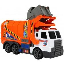 Детска играчка Dickie Toys - Камион за боклук -1