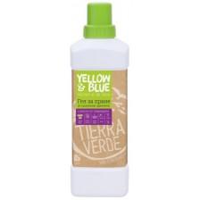 Гел за пране от сапунени орехчета с масло от лавандула Tierra Verde, 1 l -1