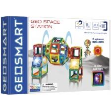 Магнитен конструктор Smart Games Geosmart - Космическа станция -1