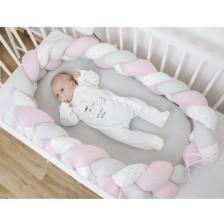 Гнездо Bubaba - Розово/бяло плитка -1