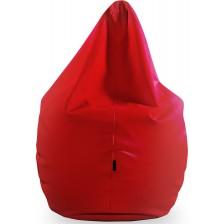 Голям барбарон Barbaron - Софт, еко кожа, червен -1