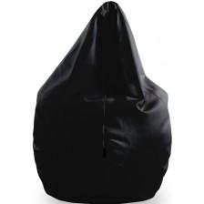 Голям барбарон Barbaron - Софт, еко кожа, черен -1