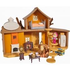 Комплект за игра Simba Toys Маша и мечока - Голяма къща на мечока -1