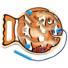 Дървена игра Hape - Риба -1