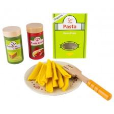 Дървена играчка Hape - Паста, комплект -1