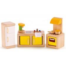 Комплект дървени мини мебели Hape - Кухня -1