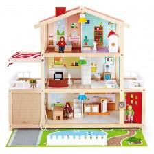 Дървена играчка Hape - Къща, имение -1