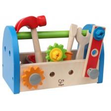 Игрален комплект Hape - Кутия с инструменти -1