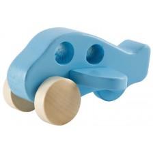 Детска играчка Hape - Самолет, дървена -1