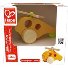 Детска играчка Hape - Вертолет, дървена -1