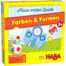 Детска игра за сортиране Haba - Цветове и форми -1