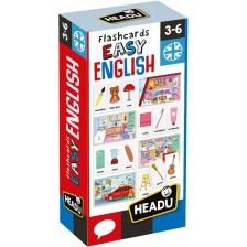 Образователни флаш карти Headu - Лесен английски -1