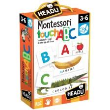 Образователна игра Headu Montessori - Докосни и разпознай буква -1