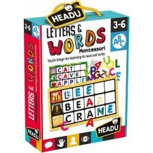 Образователна игра Headu Montessori - Докосни и отгатни буквата -1