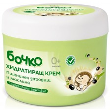 Хидратиращ крем Бочко - Пшеничен зародиш и маслина, 240 ml -1