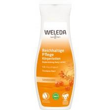 Хидратиращ лосион за тяло с облепиха Weleda, 200 ml -1