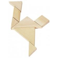 Дървена игра Goki - Танграм -1