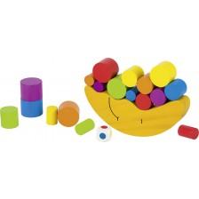 Дървена игра за балансиране Goki - Луна, вид 2 -1