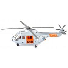 Метална играчка Siku Super - Спасителен хеликоптер, 1:50 -1