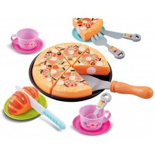 Игрален комплект Ocie - Пицария, Happy Little Chef, 20 части -1