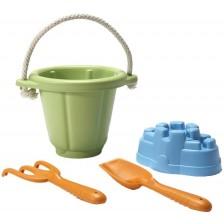 Игрален комплект за пясък Green Toys, зелен -1