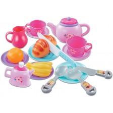Игрален комплект Ocie - Сервиз за чай, Happy Little Chef, 21 части -1