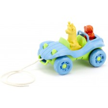 Играчка за дърпане Green Toys - Бъги, синьо -1