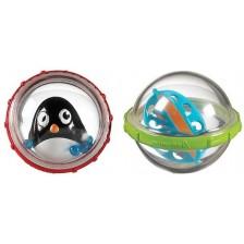 Играчки за баня Munchkin - Топчета, пингвин -1