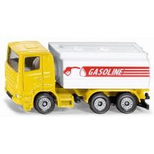 Метална количка Siku Super - Камион цистерна Scania -1