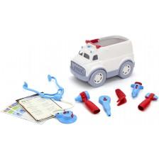 Игрален комплект Green Toys - Линейка и докторски принадлежности -1