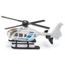 Метална играчка Siku - Полицейски хеликоптер, 1:50 -1